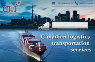 Canadian Logistics Transportation Services
