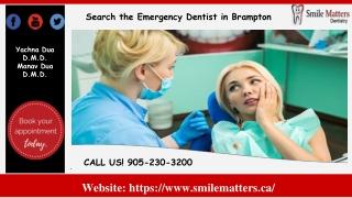Search the Best Dentist in Brampton
