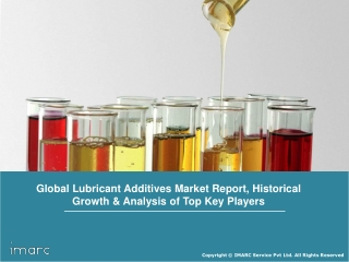 Lubricant Additives Market Report 2018: Share, Size, Trends, Growth and Regional Outlook Till 2023