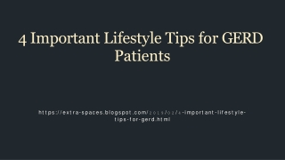 4 essential lifestyle tips for those who suffer from GERD