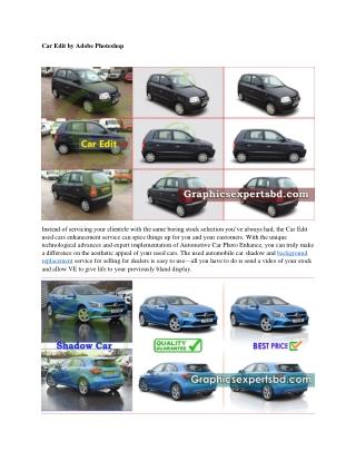 Car Edit by Adobe Photoshop