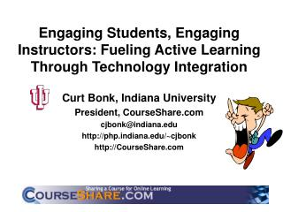 Engaging Students, Engaging Instructors: Fueling Active Learning Through Technology Integration