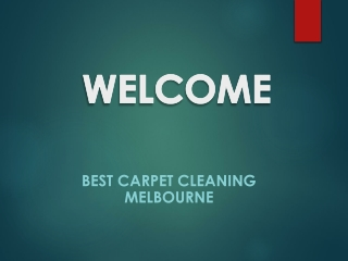 Best Carpet Cleaning in South Yarra