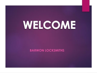Barwon Locksmiths is the best Locksmiths in Grovedale. For more details visit: https://goo.gl/maps/4gHmKma74by