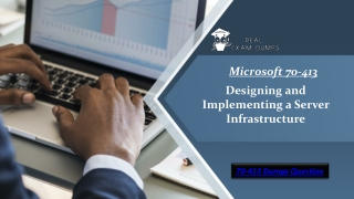 Get 100 % Success Ensured Microsoft 70-413 Questions Demo