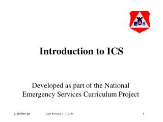 Introduction to ICS
