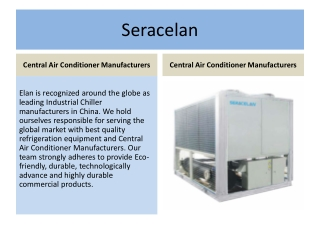 Seracelan Central Air Conditioner Manufacturers