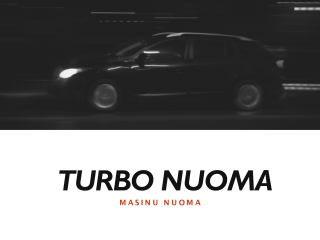 Turbonuoma - Best Online Place To Book Autonuoma (Or Car Rental)