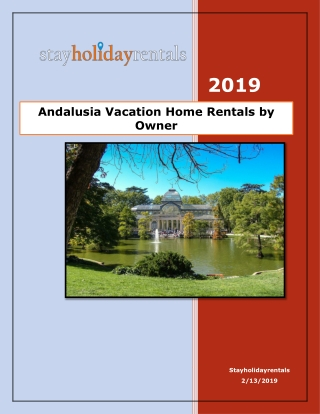 Andalusia Vacation Home Rentals by Owner