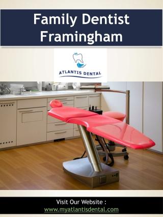 Family Dentist Framingham