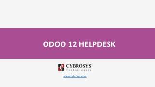 Odoo 12 Helpdesk