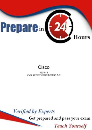 100% Validated Cisco 350-018 Dumps | Realexamdumps.com