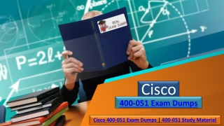 To Start Pdf Exam Dumps Cisco 400-051 | Realexamdumps.com