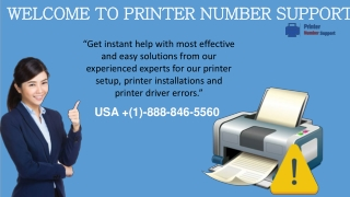 Techniques to Fix printer Errors -1-888-846-5560