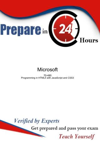 An Incredibly Easy Method to Pass Microsoft 70-480 | Realexamdumps.com