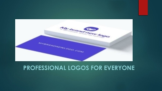 Professional logos for everyone with My Brand New Logo