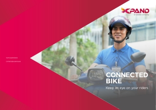 IOT Connected Logistics Solution-Connected Bikes