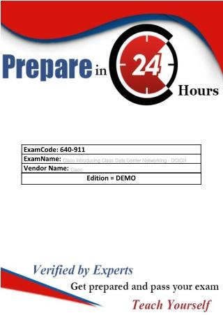 To Start Pdf Exam Dumps Cisco 640-911 | Realexamdumps.com