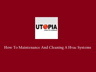 Hvac Equipments Manufacturer