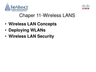 Chaper 11-Wireless LANS