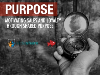 Red Goldfish - Motivating Sales and Loyalty Through Shared Passion & Purpose