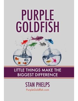 Purple Goldfish - Little Things Make The Biggest Difference Minibuk
