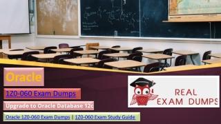 Latest 1Z0-060 Exam Dumps in Printable PDF - 1Z0-060 Study Material