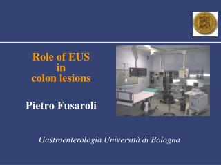Role of EUS  in colon lesions P ietro  Fusaroli