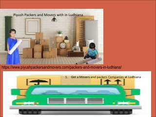 Packers & Movers top Ludhiana