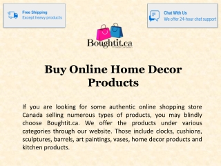 Buy Online Home Decor Products