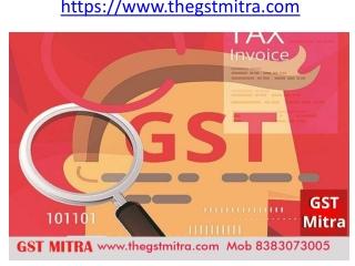 GST Registration, GST return, GST audit,