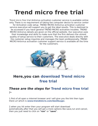 Trend Micro Free Trial