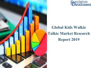 Kids Walkie Talkie Market Current Size 2019 and Future Growth Upto 2025