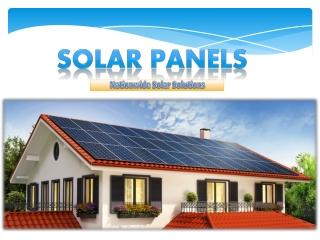 Solar Panels | Nationwide Solar Solutions