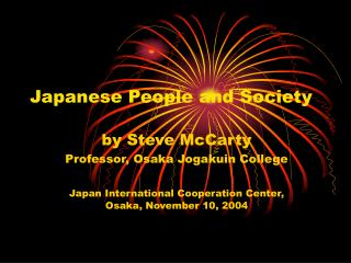 Japanese People and Society