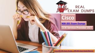 2019 Best Cisco Exam, Cisco 400-201 exam guide Exam download