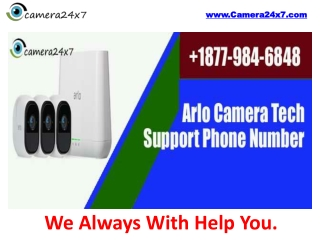 Rely on Arlo Camera Security Features To Get Feel Secure At Your Home.
