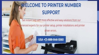 Printer Support Services