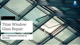 Essential Skylight repair Service at Titan Window Glass Repair