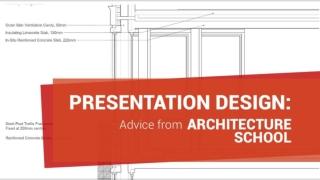 Presentation Design Advice From Architecture School