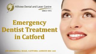 Emergency Dentist Treatment in Catford