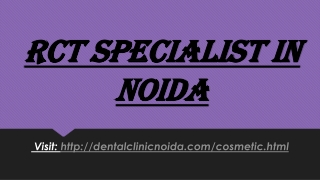 RCT Specialist in Noida