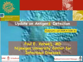 Update on Antigen   Detection