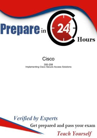 300-208 Upgrade to Cisco SQL Server 2012 Exam Dumps Questions