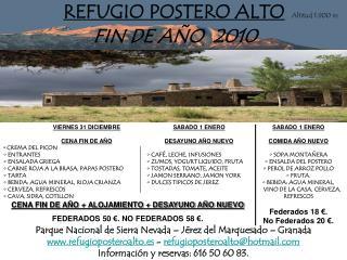 REFUGIO POSTERO ALTO