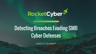 Detecting Attackers Bypassing Prevention Solutions