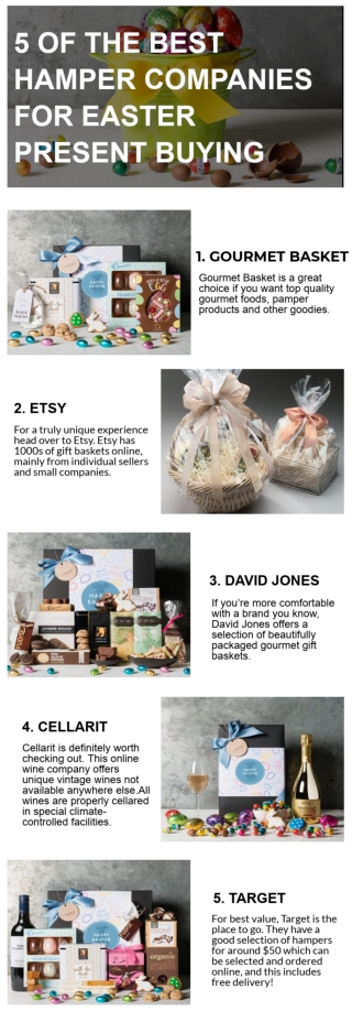 5 Of The Best Hamper Companies For Easter Present Buying