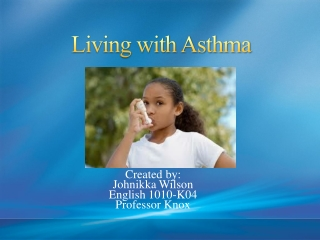 Spirometry and Devices for Pediatric Asthma Patients