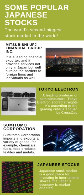 Some Popular Japanese Stocks