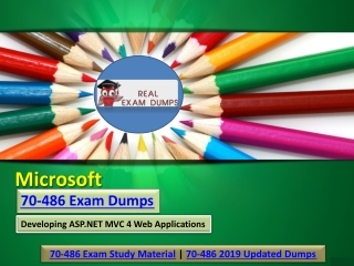 Microsoft 70-486 Updated Exam Dumps Material | Realexamdumps.com